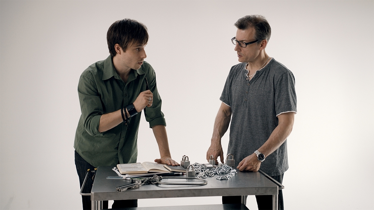 Luc Langevin et Stéphane Bourgoin.