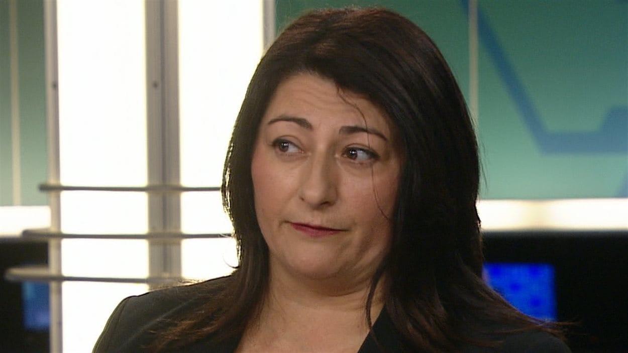 La vice-présidente de la CESM Sylvia Lo Bianco