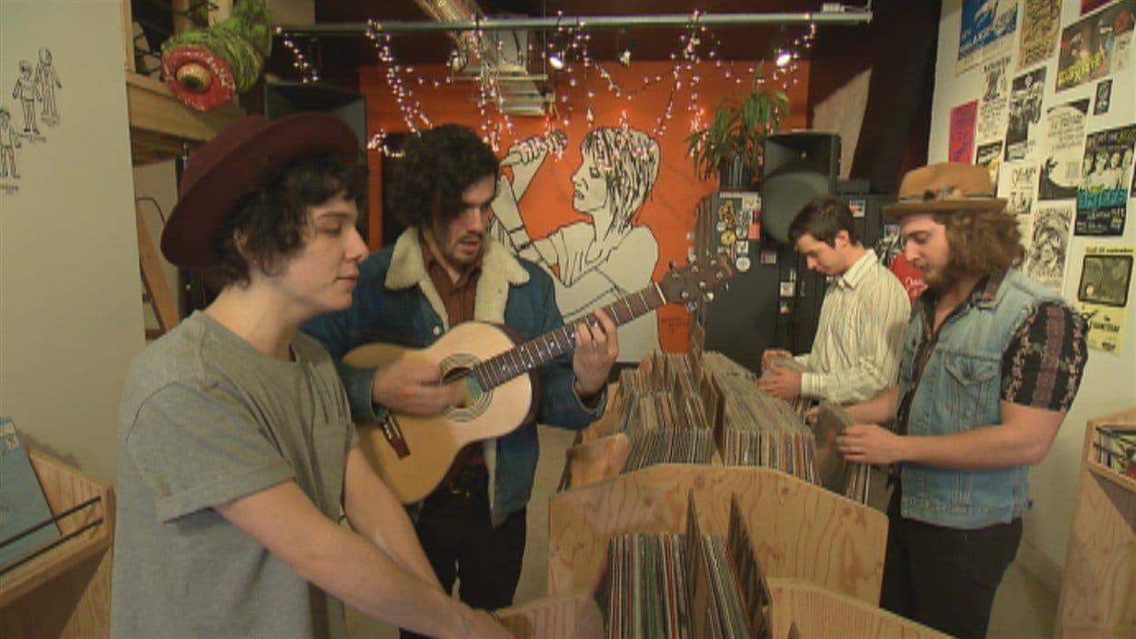 Les quatre membre du groupe The Seasons