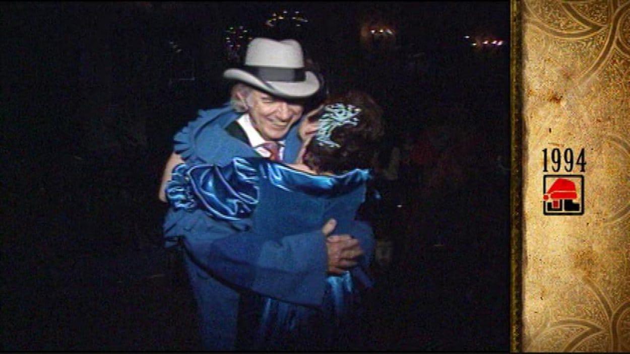L'artiste cajun Hadley Castille, à qui le Festival du Voyageur a rendu hommage lors de sa 44e édition, avait reçu le Capot bleu.