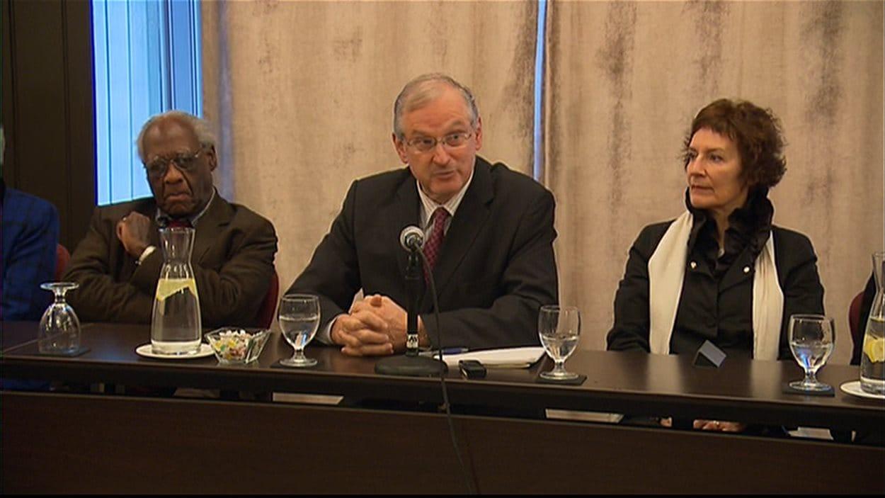 Le président de la Commission des droits de la personne, Jacques Frémont, aux audiences sur la charte de la laïcité.