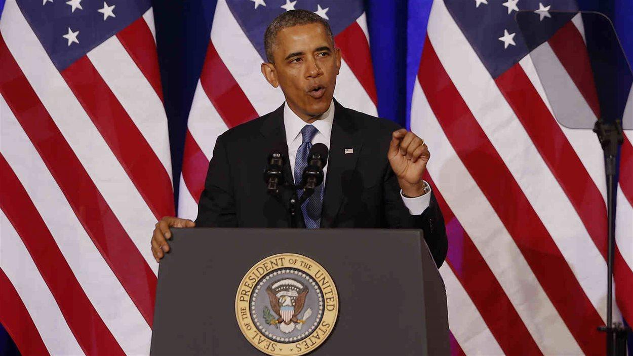 Obama annonce des modifications au programme de surveillance de la NSA.