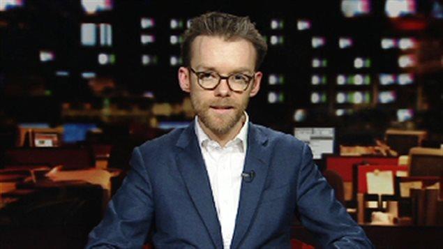 Jean-François Caron, professeur de sciences politiques à l'Université de Moncton