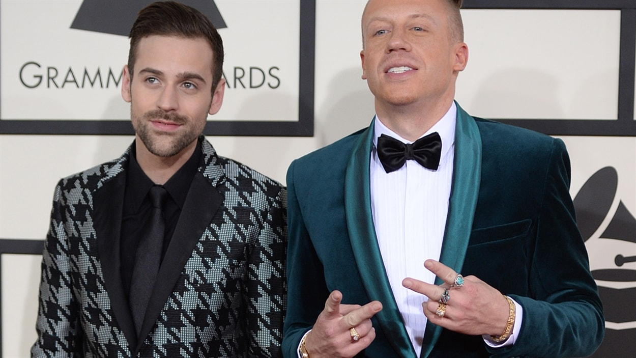 Le duo Macklemore and Ryan Lewis.