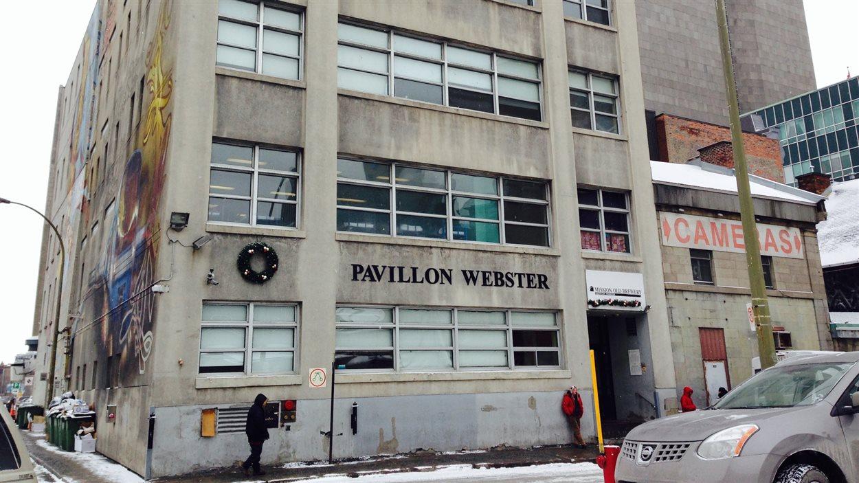 Le pavillon Webster de la Mission Old Brewery