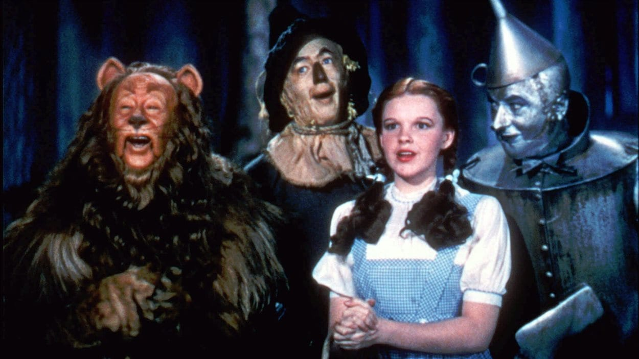 Le film «Le magicien d'Oz»