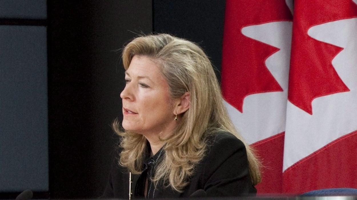 La commissaire fédérale à la protection de la vie privée par intérim, Chantal Bernier