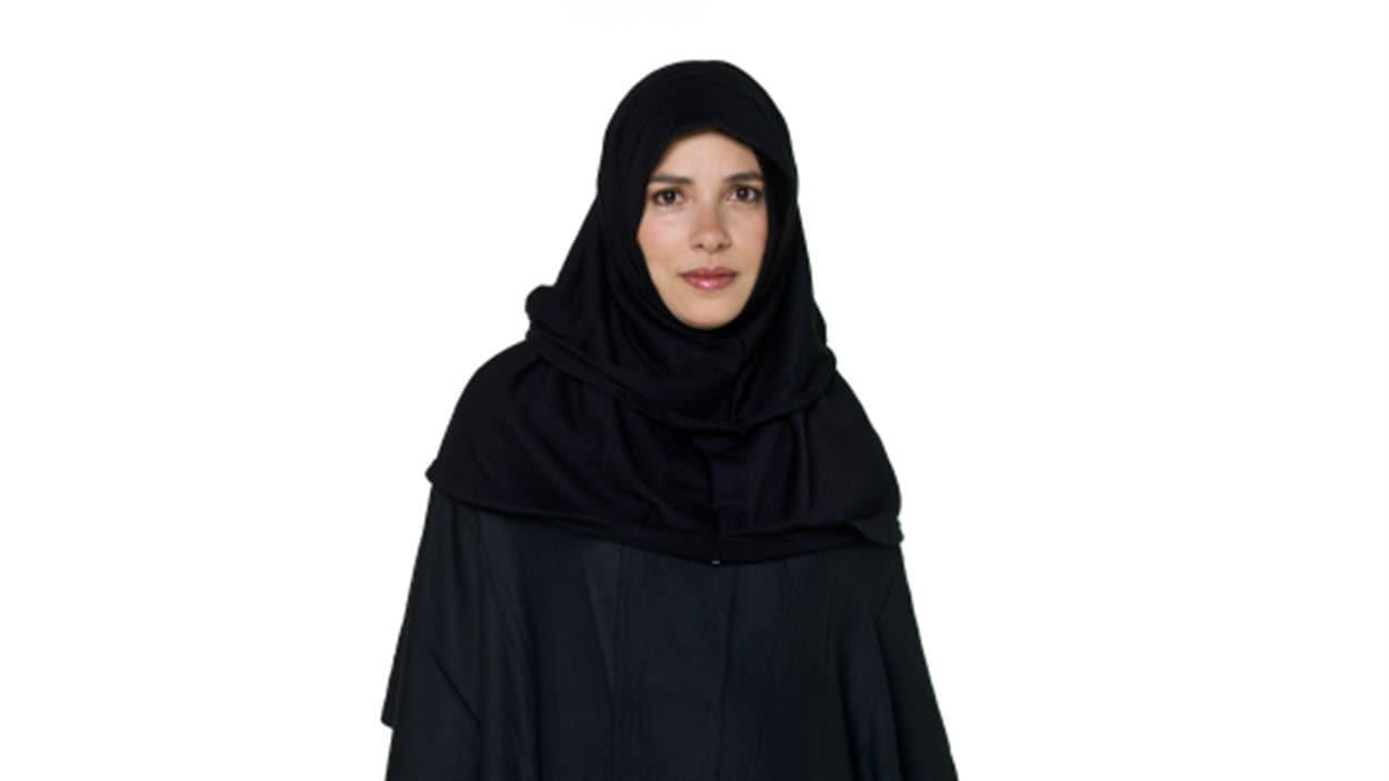 Femme portant le tchador.