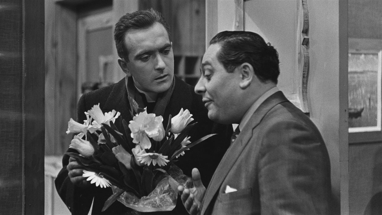Jacques Languirand et Guy Hoffmann, Le Colombier, 1957