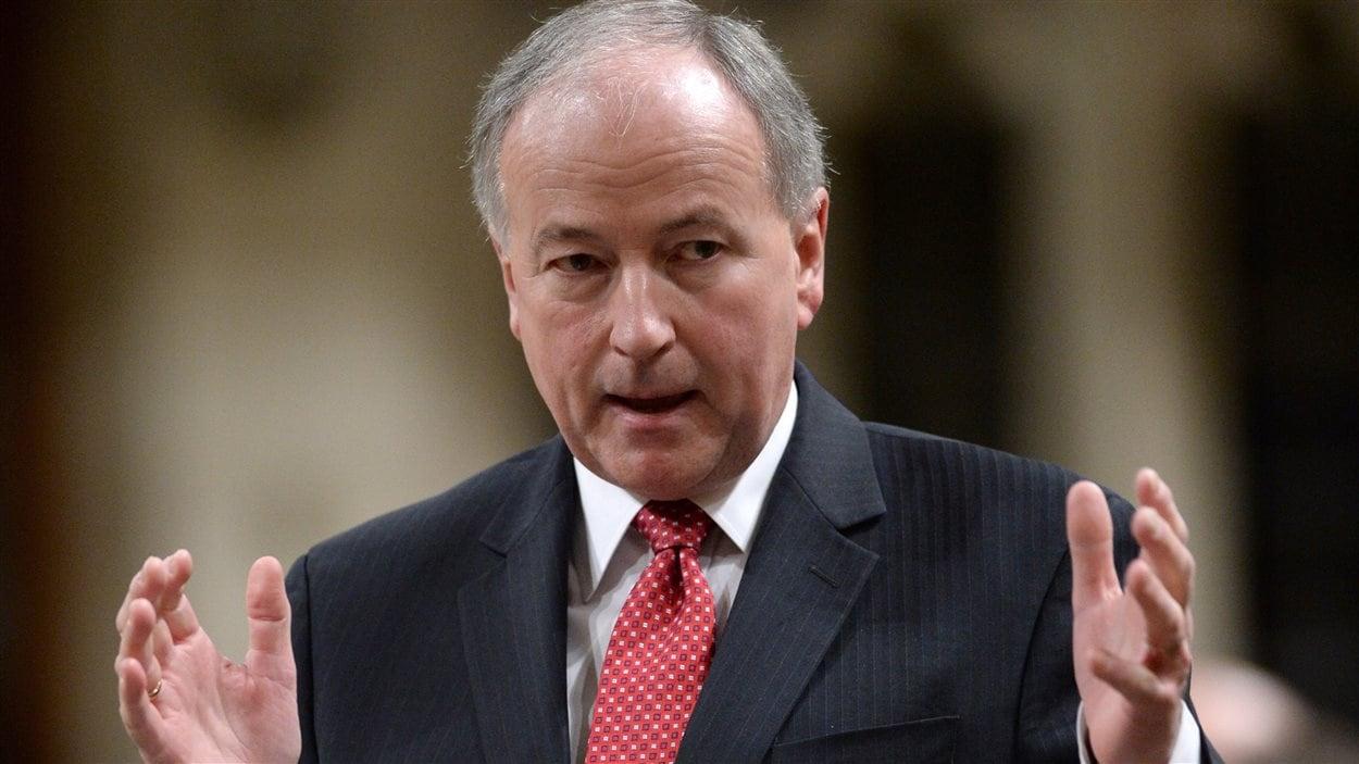 Le ministre de la Défense nationale, Rob Nicholson
