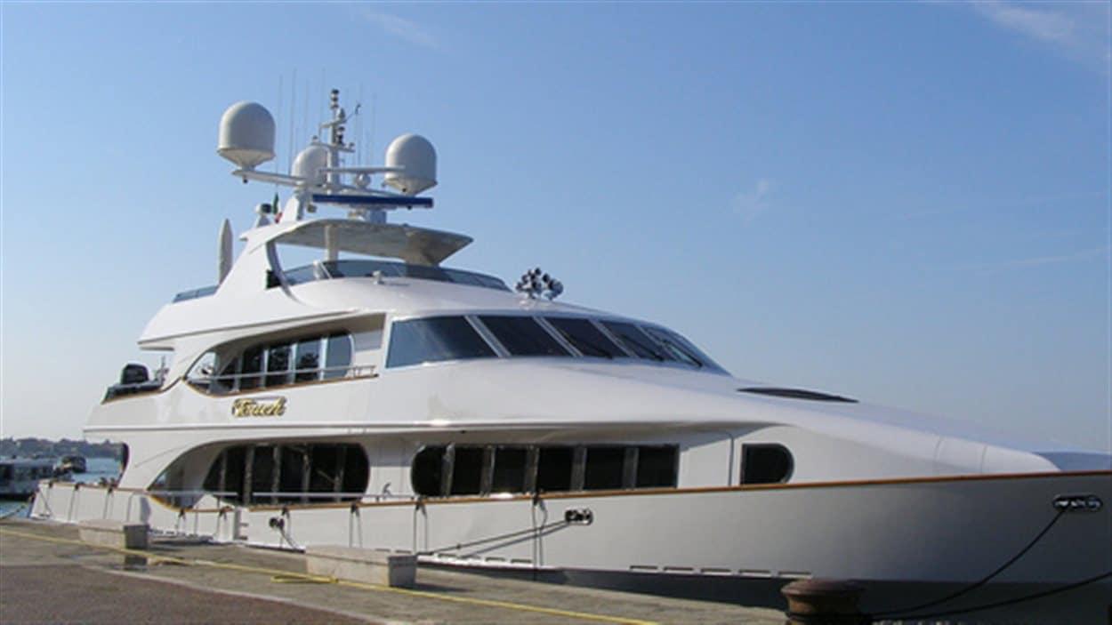 Le yacht de Tony Accurso