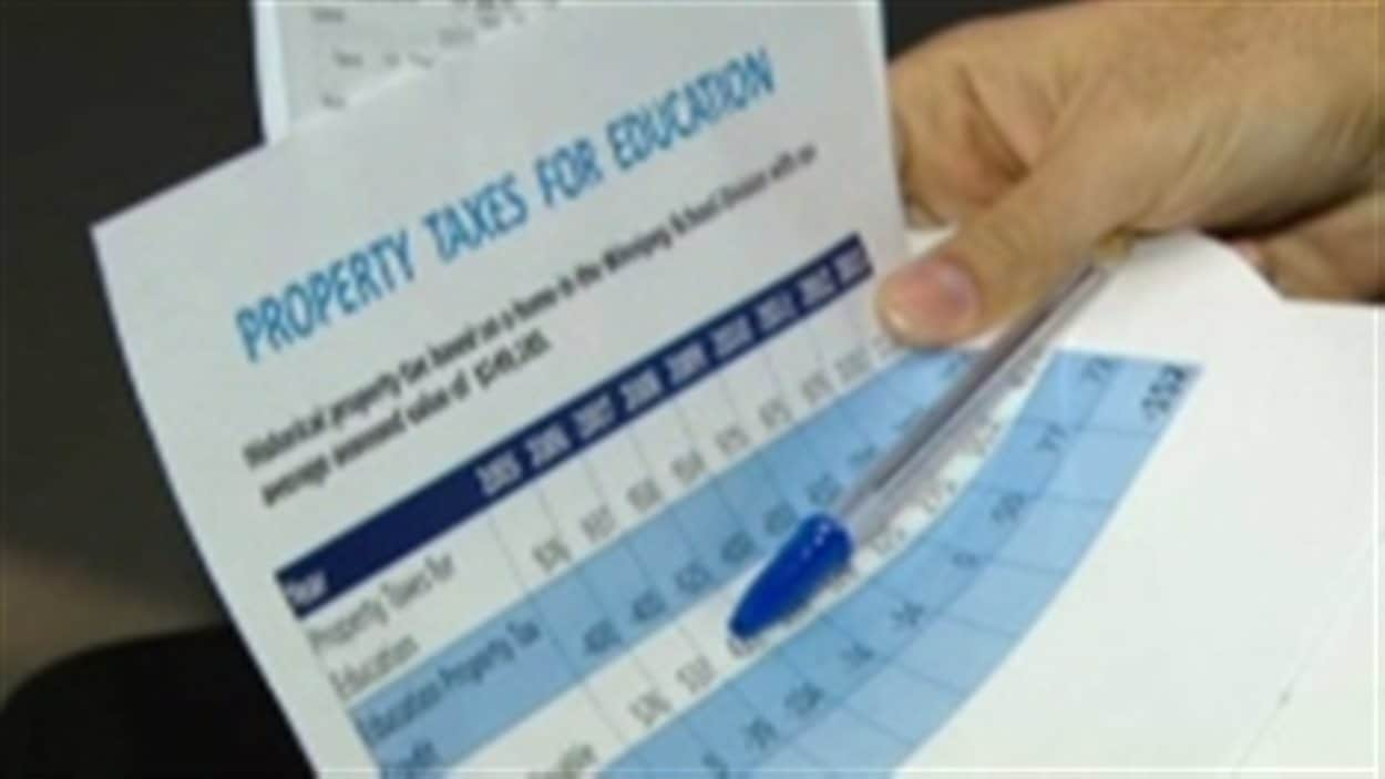 La Division scolaire de Winnipeg propose d'augmenter la taxe scolaire de 3,6 % pour 2014-2015.