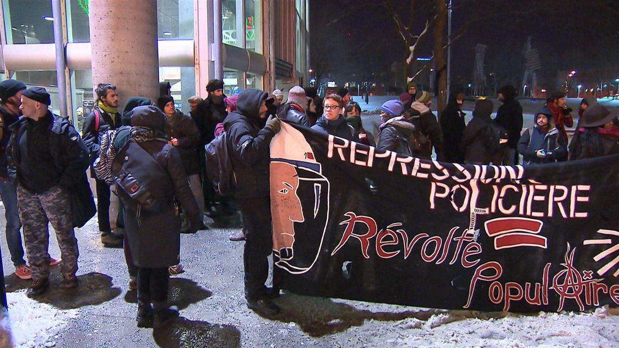 Manifestation contre la répression policière