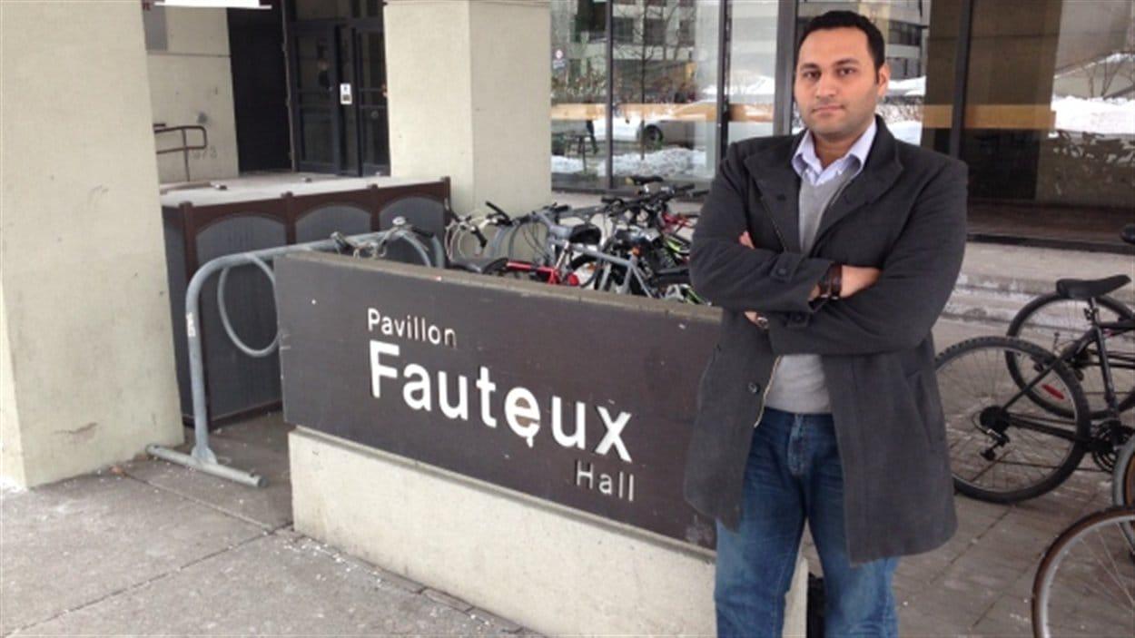 Sherif Rizk, président de l'Association des étudiants en commun law de l'Université d'Ottawa, soutient que les étudiants ont été pris par surprise.