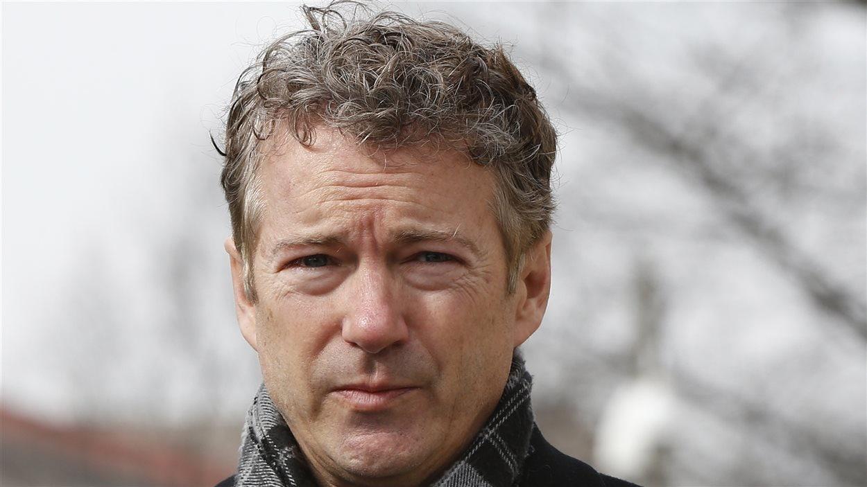 Le sénateur républicain Rand Paul