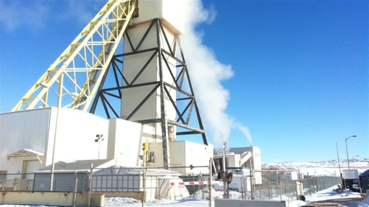 La mine de potasse à Vanscoy
