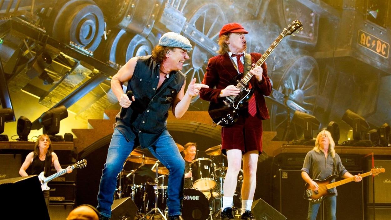 Le groupe AC/DC.