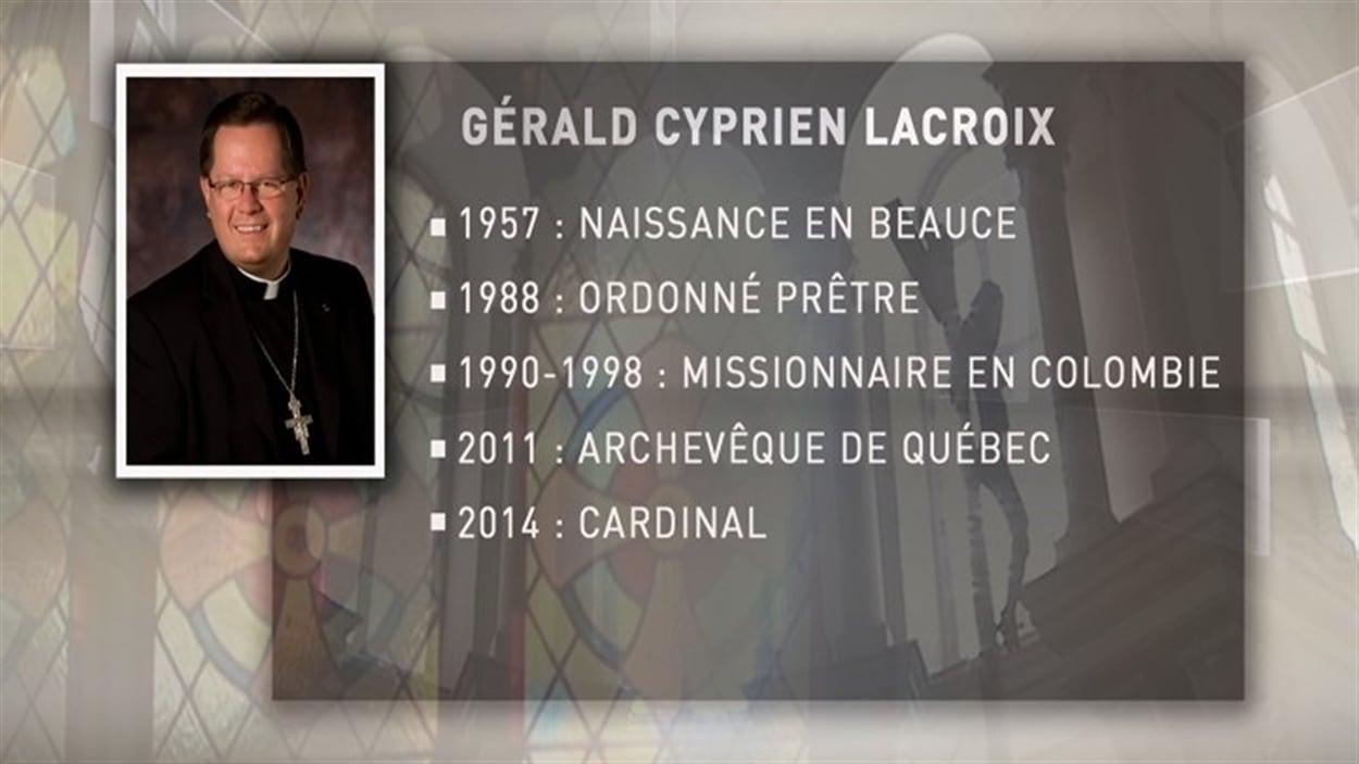 Gérald Cyprien Lacroix sera fait cardinal demain