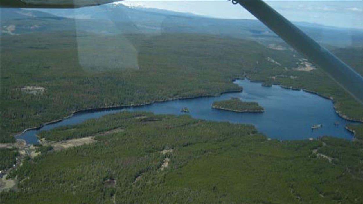 La mine devait voir le jour près du lac Fish.