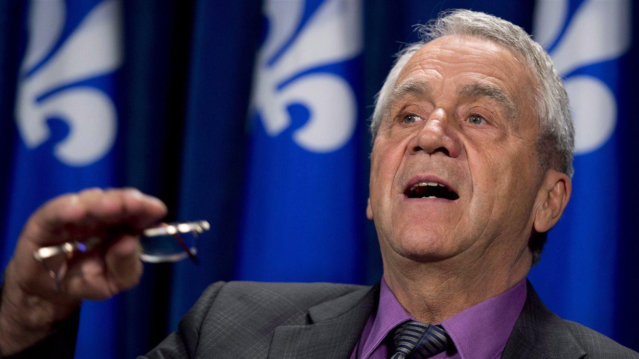 Le député péquiste d'Abitibi-Ouest, François Gendron