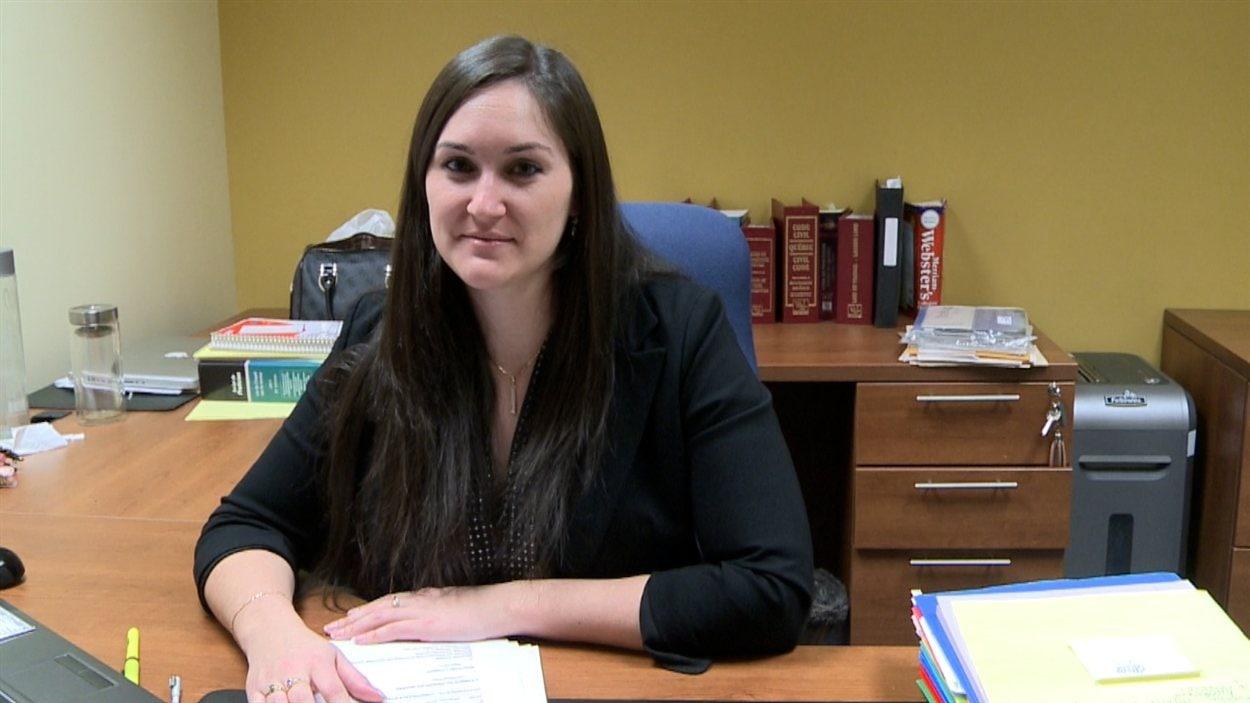 Karine Pelletier, avocate, représente deux locataires de Place Saint-Martin