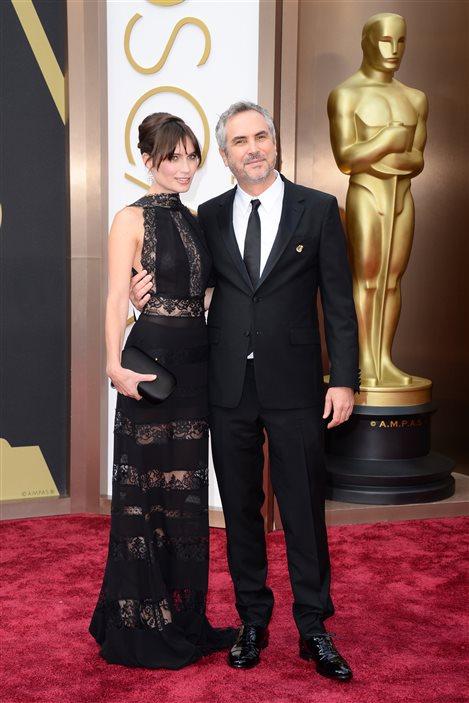 Le réalisateur Alfonso Cuaron et Sheherazade Goldsmith