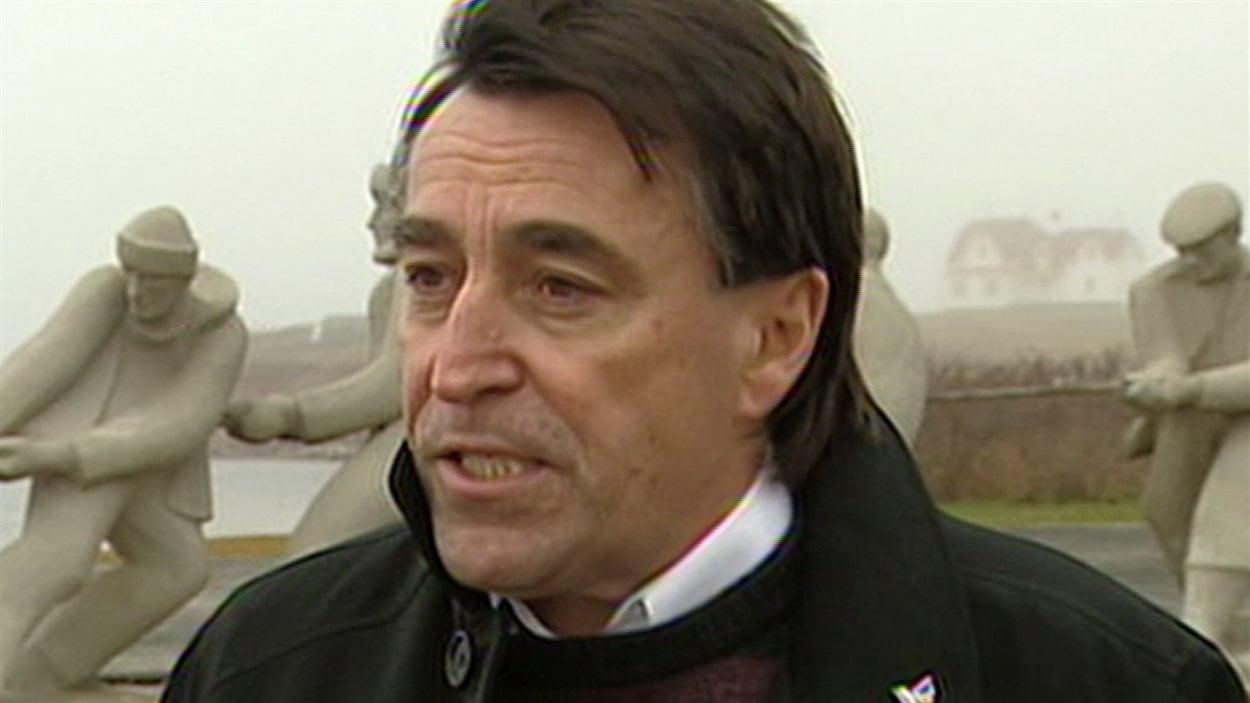 Germain Chevarie, candidat libéral dans la circonscription des Îles-de-la-Madeleine