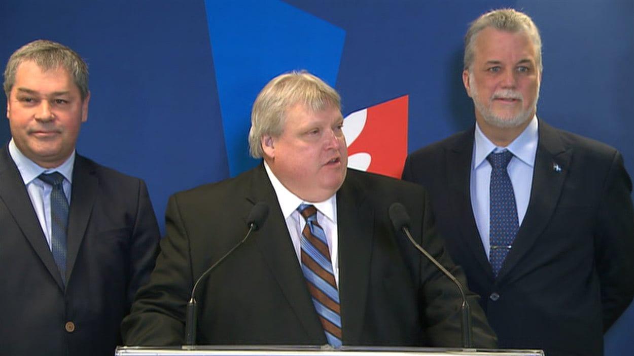 Gaétan Barrette confirma sa candidature aux prochaines élections sous la bannière libérale.