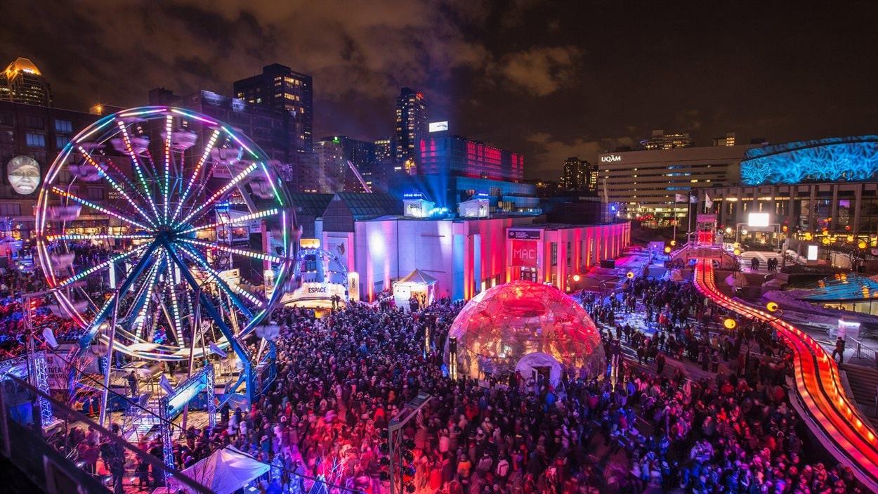 Montréal en lumière 2014