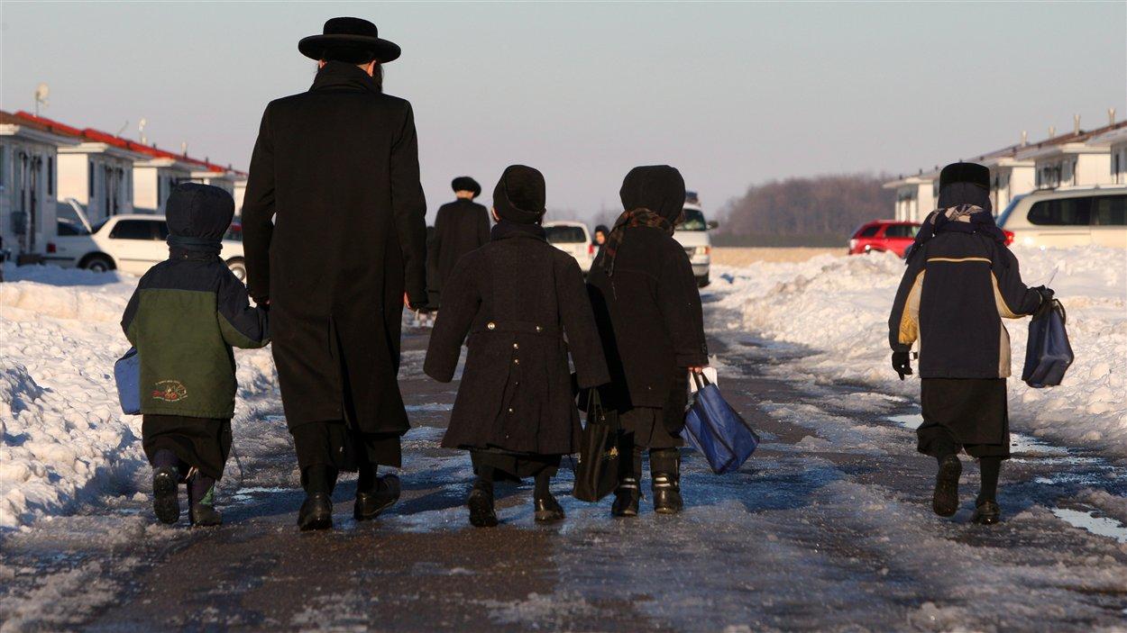 Quelque 200 membres de la secte Lev Tahor ont quitté le Québec en novembre dernier pour se réfugier à Chatham, dans le sud-ouest de l'Ontario.