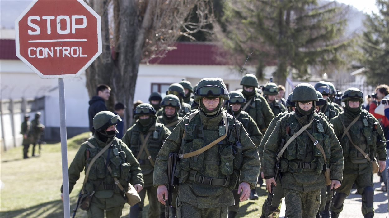 Des troupes prorusses déployées en Crimée