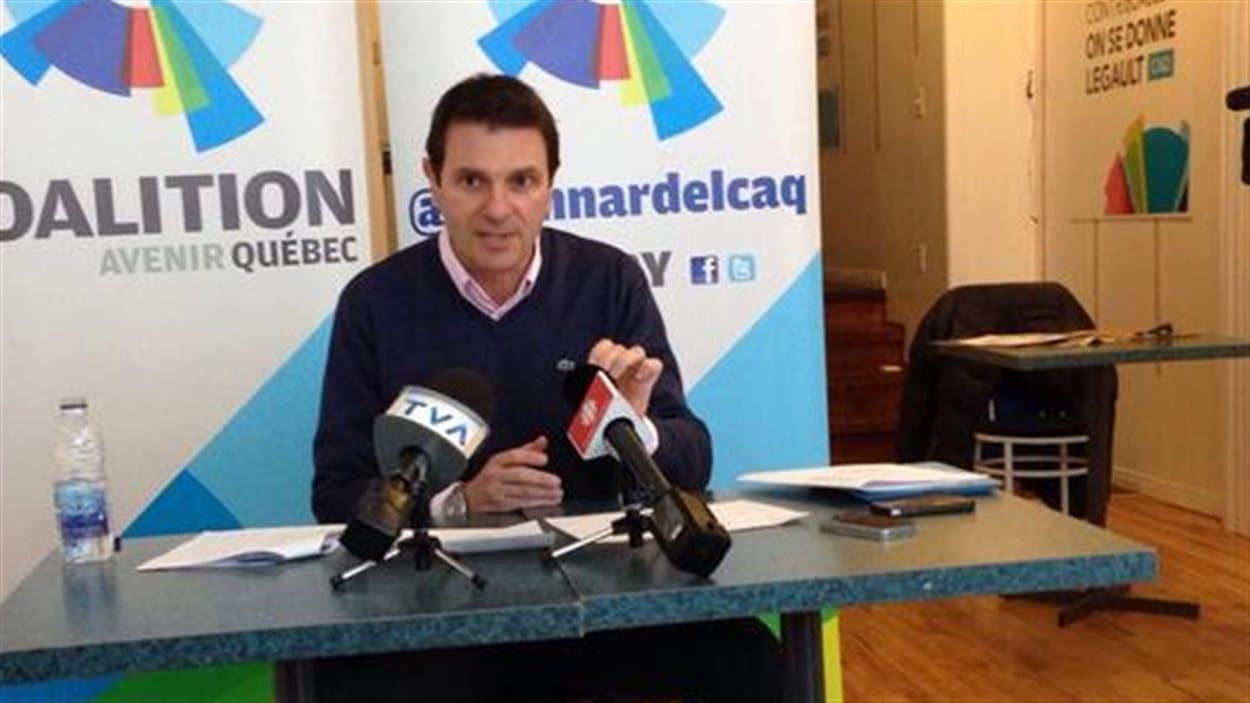 Le candidat de la CAQ dans Granby, François Bonnardel