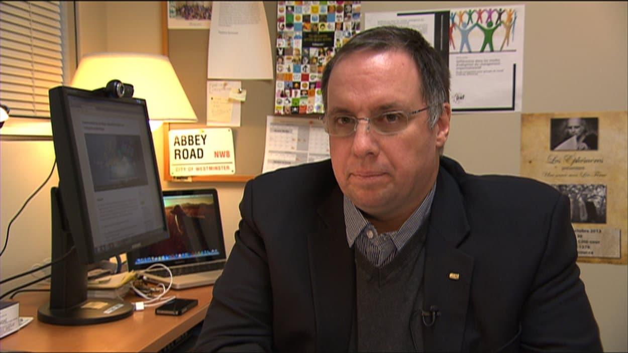 Martin Larose, coordonateur de la gestion des programmes à l'UQAC