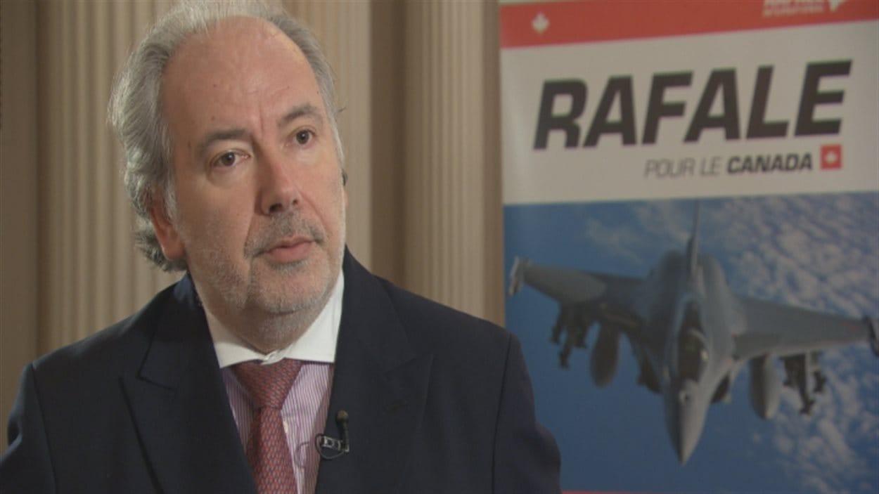 Yves Robins, vice-président principal de Dassault Aviation