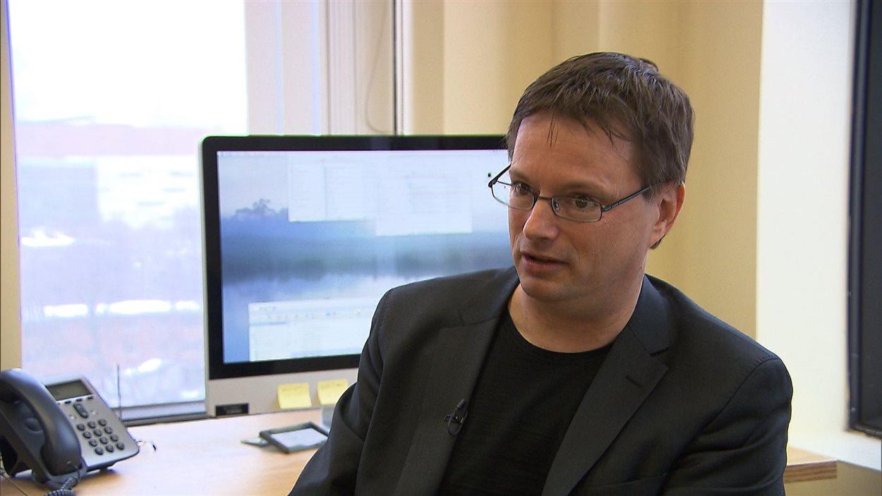 Michel Séguin, professeur à l'École des sciences de la gestion de l'UQÀM