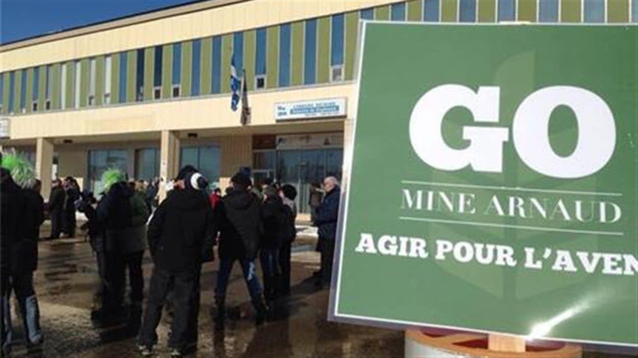 Marche pour Mine Arnaud