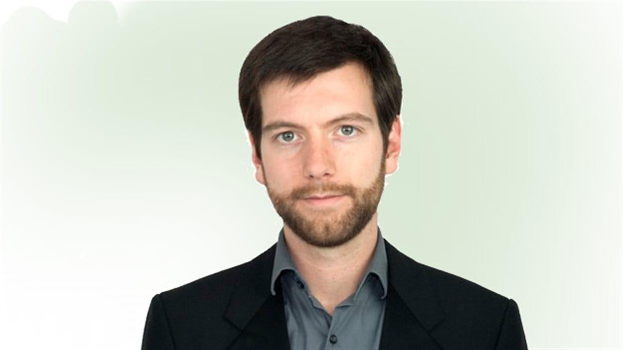 Alex Tyrrell, chef du Parti vert du Québec