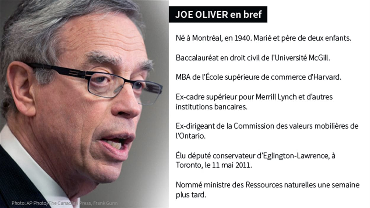 Joe Oliver en bref
