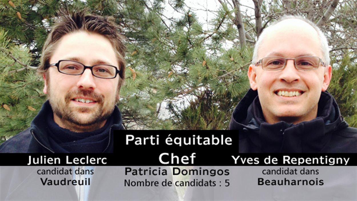 Candidats du Parti équitable