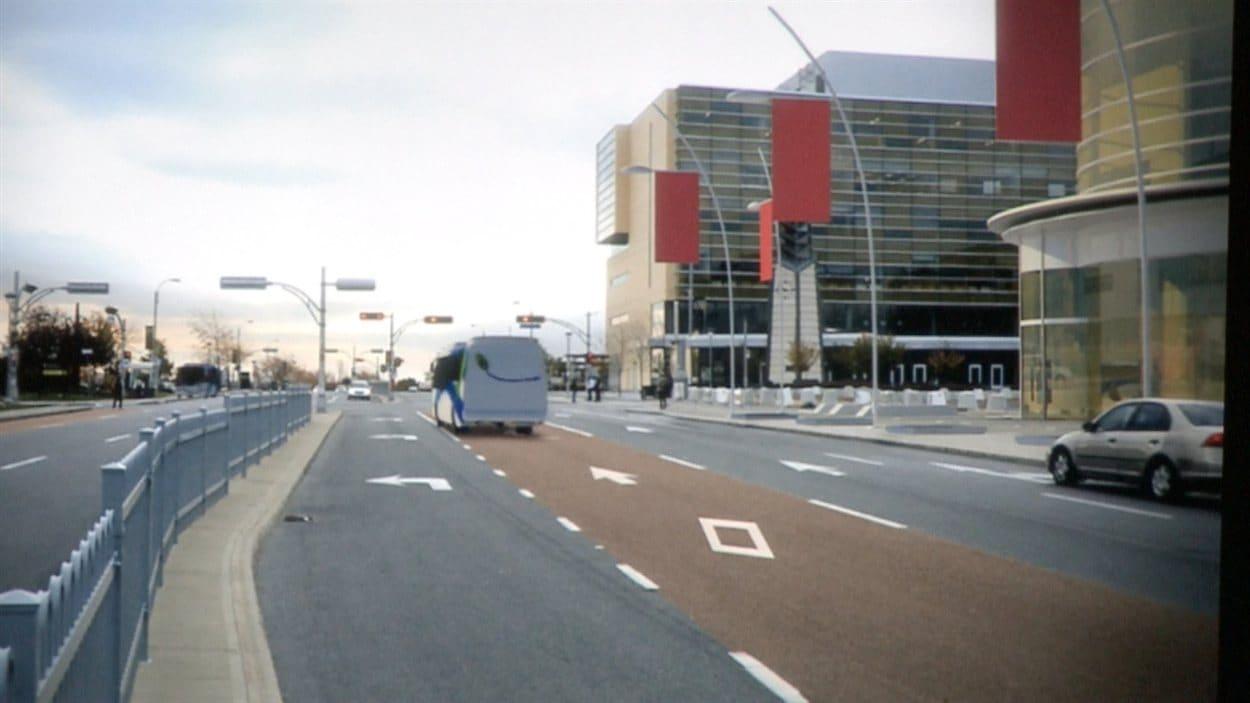 Des parcours intelligents, qui favorisent le transport en commun pour Laval.