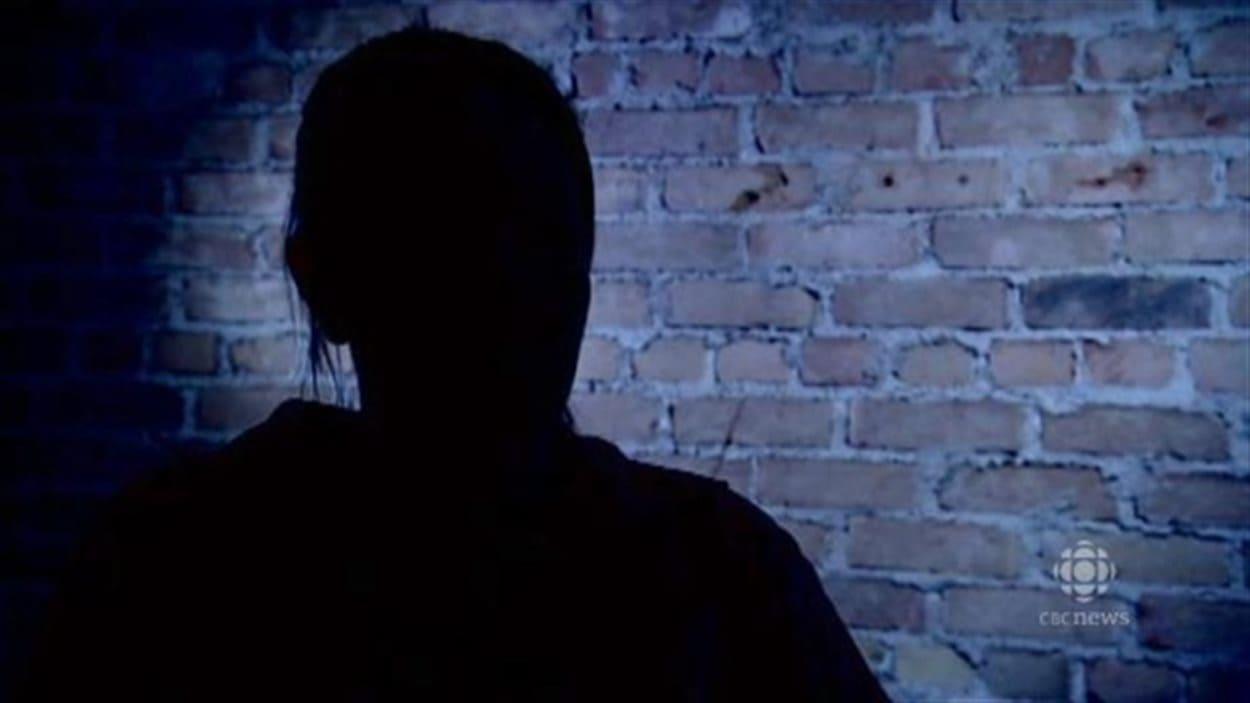 Christine explique être devenue la «propriété» d'un homme qui l'a forcée à se prostituer à Winnipeg.