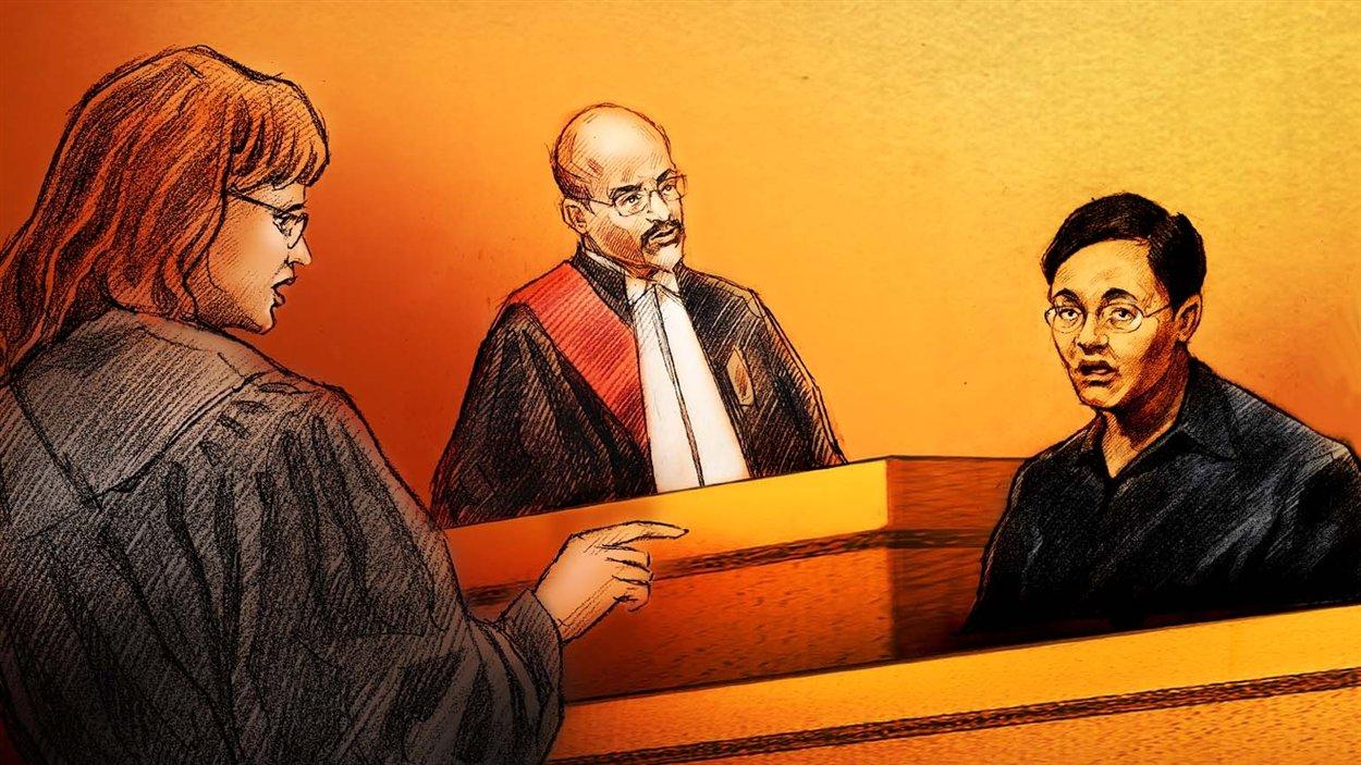 Huei Hann Pan témoigne au procès pour meurtre de sa fille, Jennifer.