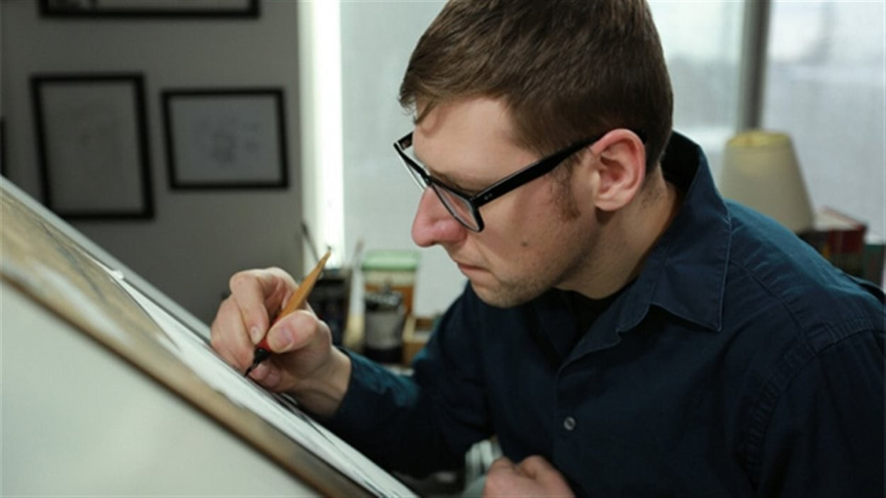 L'artiste Jeff Lemire
