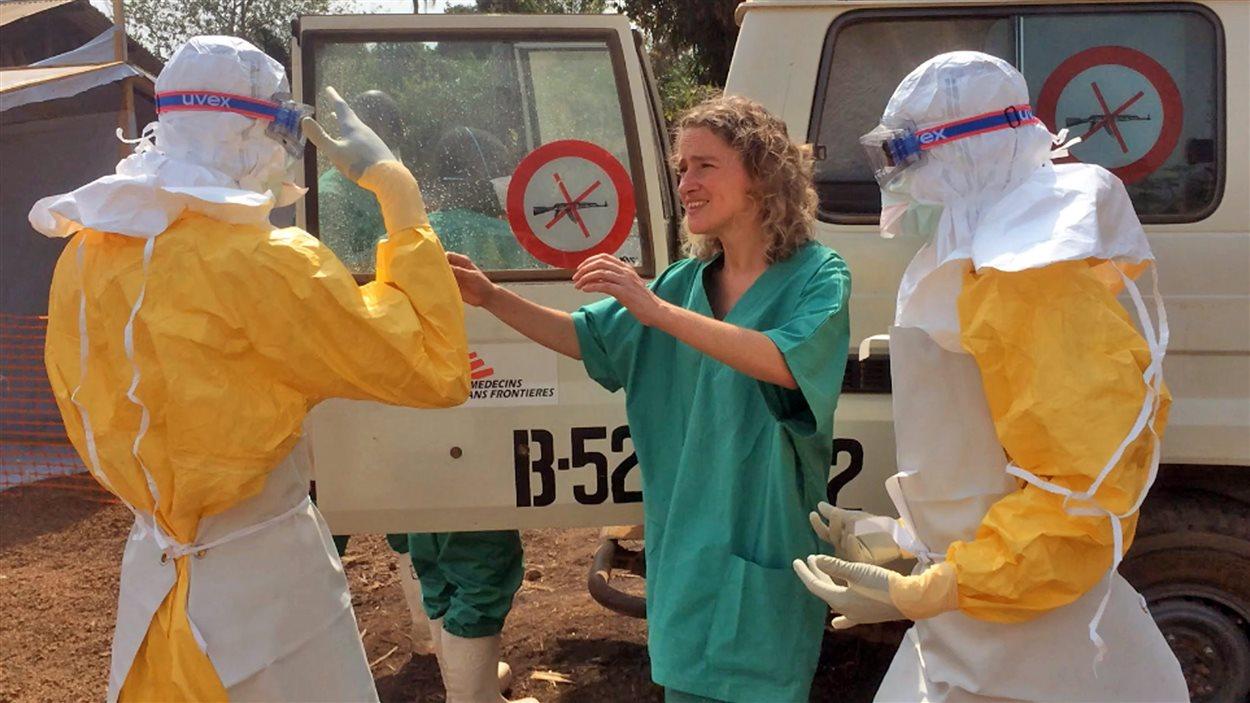 Des médecins de MSF à Guéckédou, en Guinée