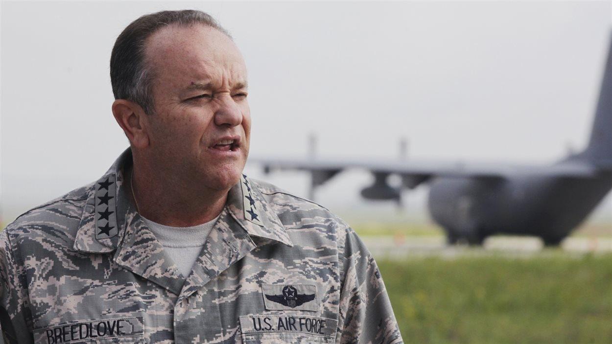 Le général américain Philip Breedlove, chef suprême des forces de l'OTAN en Europe