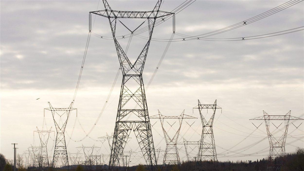 Pylones d'Hydro-Québec