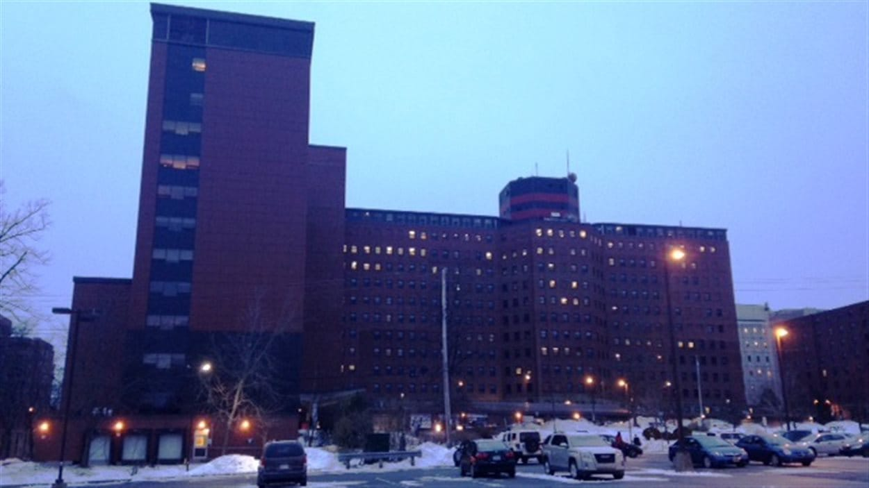 L'Hôpital général Victoria, à Halifax