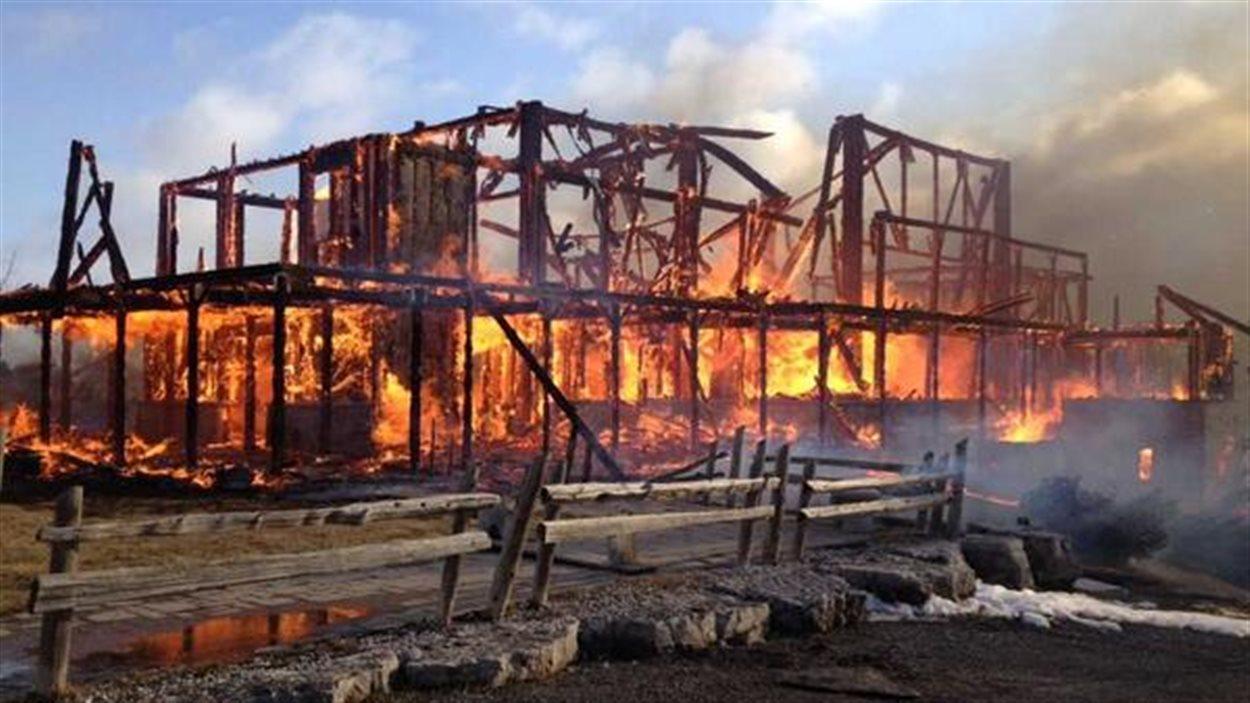 L'incendie de l'église ukrainienne de Brampton