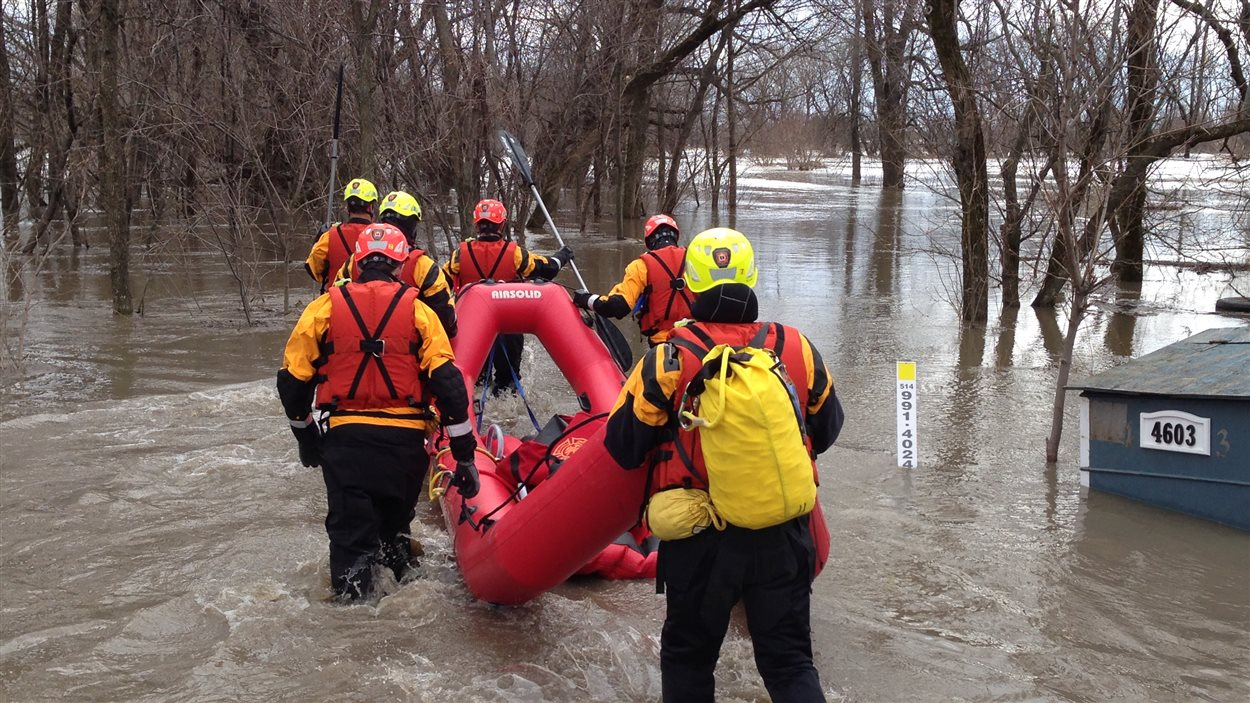 Inondations Carignan