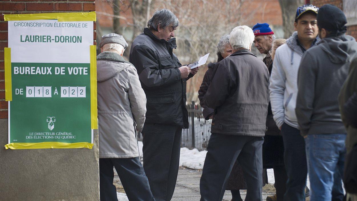 Des électeurs
